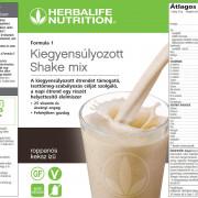 Formula 1 Roppanós Keksz - Kiegyensúlyozott shake mix - Roppanós keksz 550 g