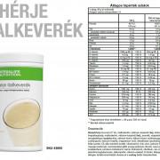Herbalife Fehérje adatlap
